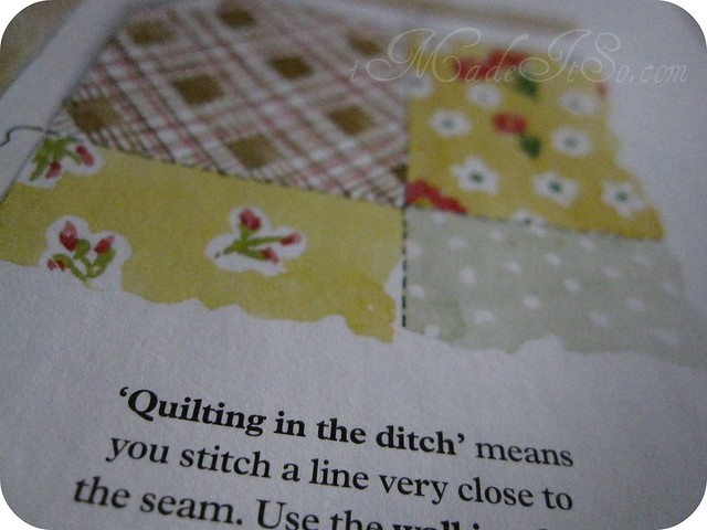 mollie makes magazine tips stitch in the ditch