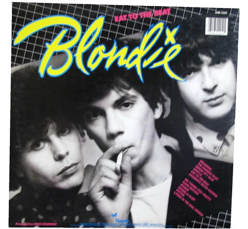 Blondie - Eat To The Beat (back) by Tommer G