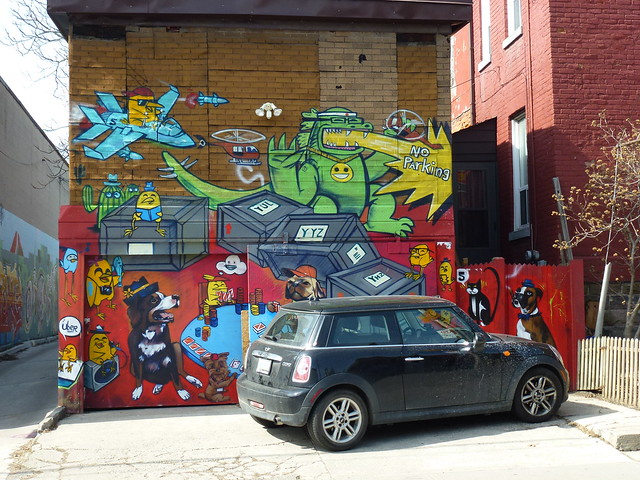 Street Art in Kensington Toronto