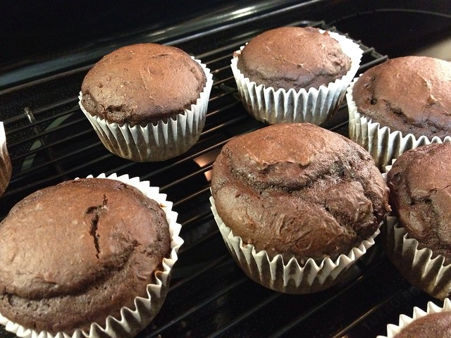Super Moist Low Fat Chocolate Cupcakes with Chocolate Glaze | Flickr ...
