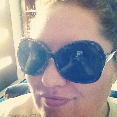 Me. Sunnies. Sort of Duck Face.