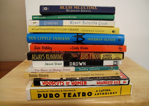 Chicano and American Indian lit
