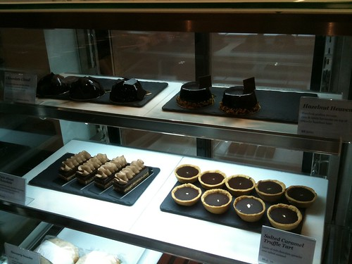 chocolate cakes and tarts