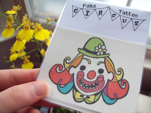 Circus Tattoos!