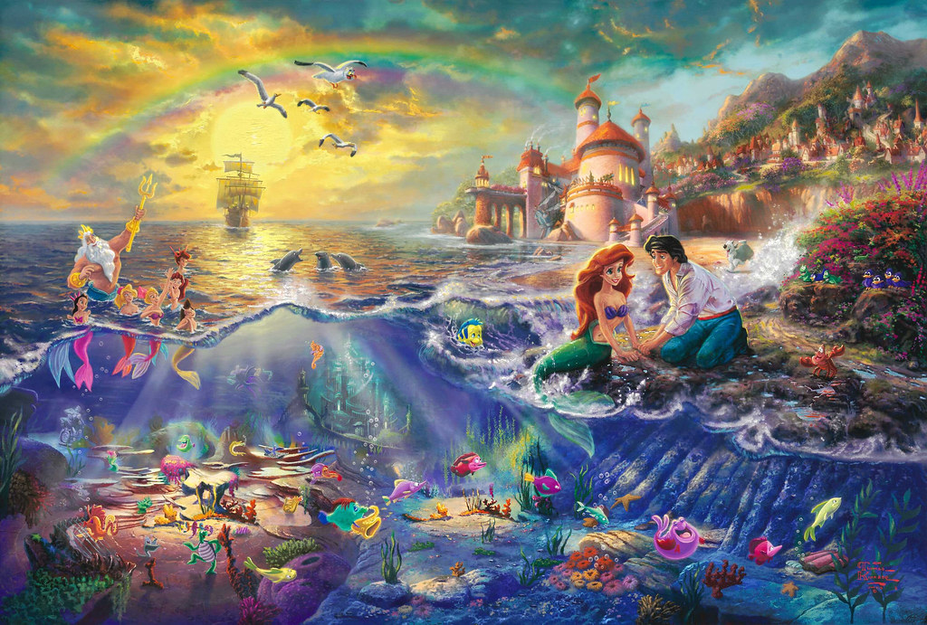 Thomas Kinkade Hides Other Disney Character From His Dream Paintings You Can Use Or Save The 3000x2000 I Put