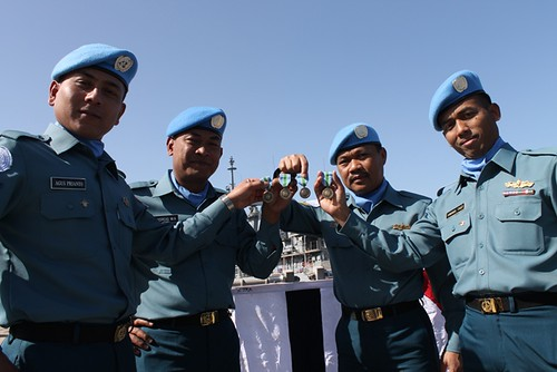 UN Medal for Satgas MTF 28C UNIFIL