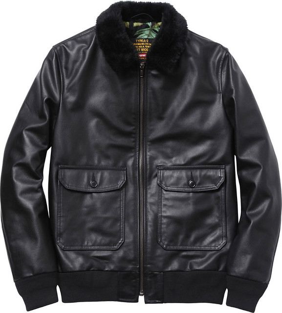 Supreme / Schott Leather Flight Jacket