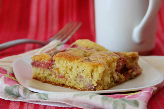 strawberry buttermilk cake 6