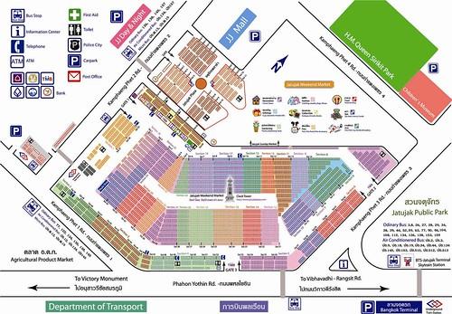 Mapa Chatuchak