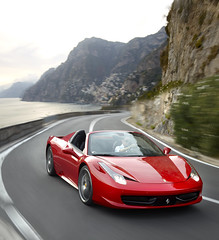 [フリー画像素材] 乗り物・交通, 自動車, フェラーリ, フェラーリ 458 イタリア ID:201202270000