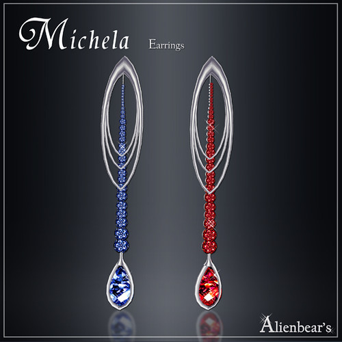 Michela earrings Miss USA