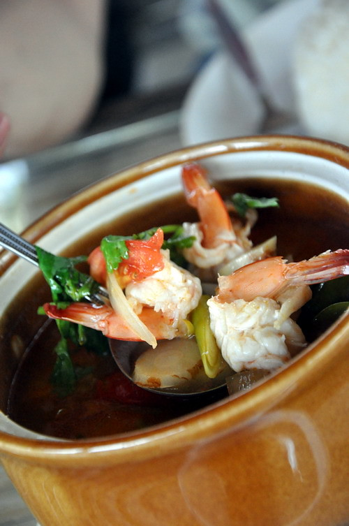Tom Yum Goong at Ma am Restaurant Koh Samui Big Boy Owen 1