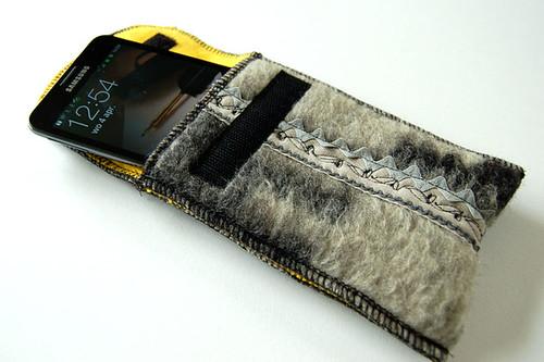 Sleeve/tasje voor GalaxyNote - front open by Mariekuniek - Marieke van Esveld