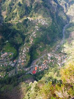 abgeschiedenes Bergdorf auf Madeira