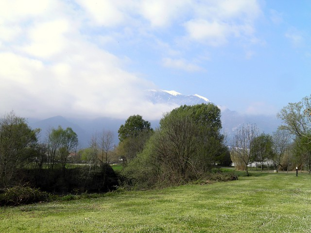 View on Mount Olympus from Ancient Dion