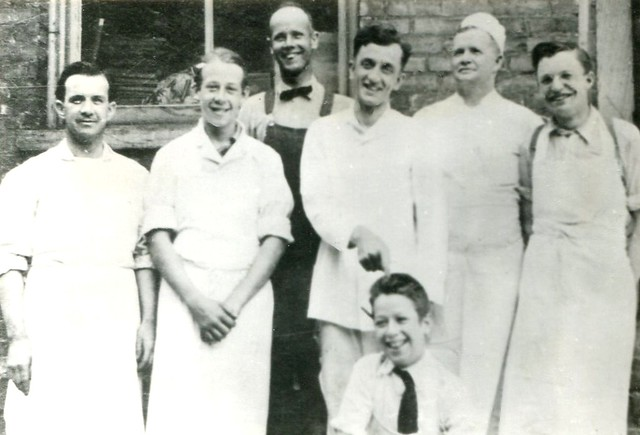 Grandpa Price at Scrace Baking Co.