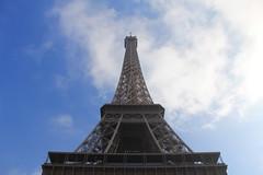 Eiffel Tower, Paris, February 2012