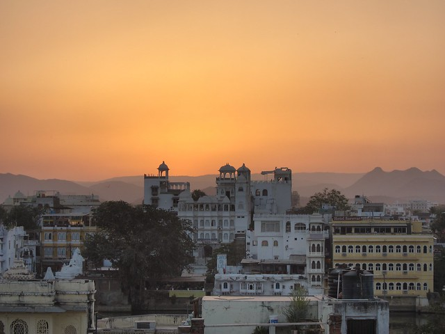 Sunset Over Udaipur
