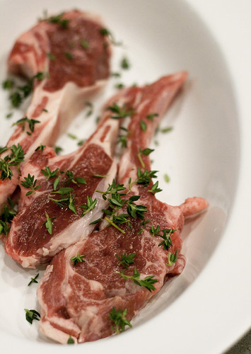 Lamb Chops with Thyme