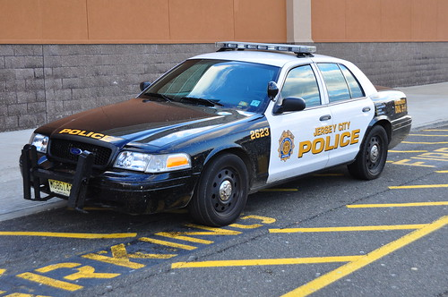 Jersey City Police Ford Crown Victoria RMP