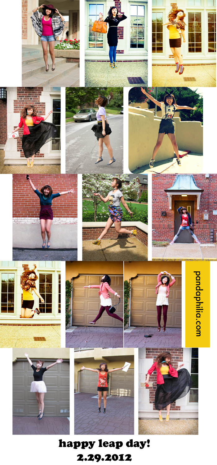 leap day 2012 collage