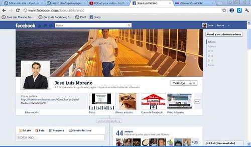 Nuevo diseño para paginas de seguidores de Facebook: Timeline o biografía para empresas