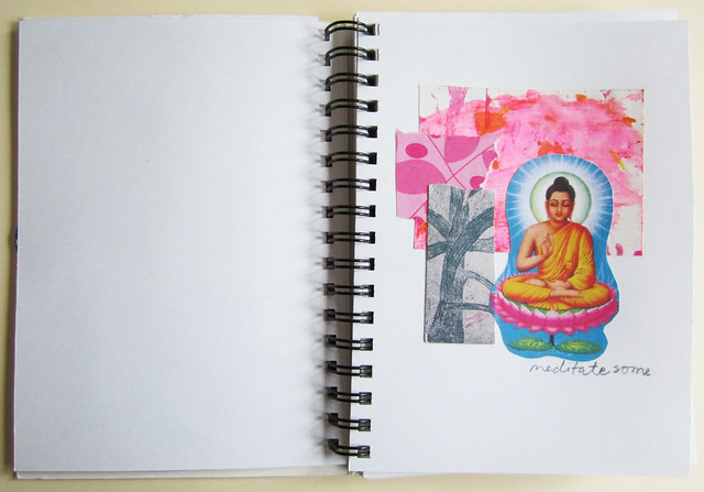Quick collage book: Buddha
