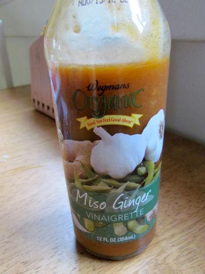 Wegmans Miso Ginger Vinegarette