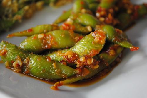 Spicy Chili Garlic Edamame