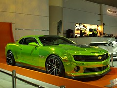 chevrolet, automobile, automotive exterior, wheel, vehicle, performance car, automotive design, auto show, bumper, land vehicle, chevrolet camaro, muscle car, coupã©, sports car, motor vehicle,