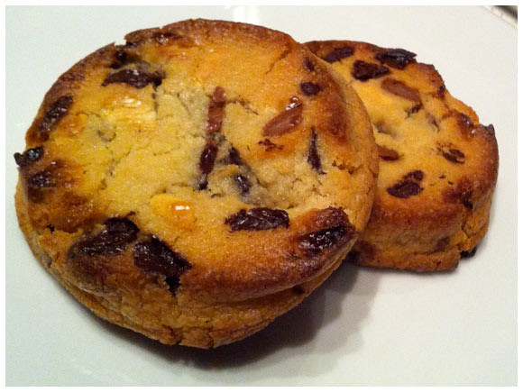 Chocolate chip cookies - Four Seasons Hotel, Geneva