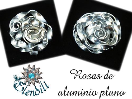 Rosas de aluminio plano by **Elendili**