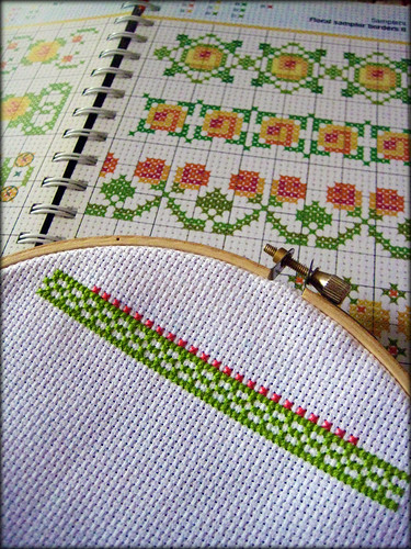 Sampling the Cross-Stitch 8