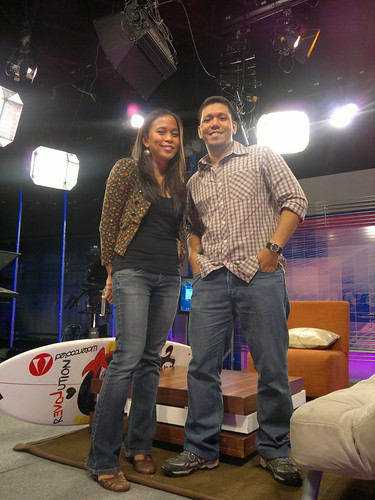 With co-guest Elaine Abonal