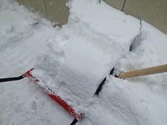 ママダンプの効率的な雪の積み方