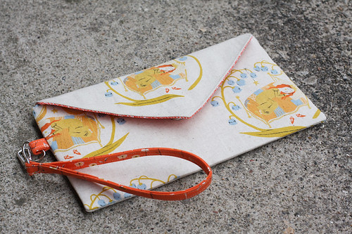 Envelope Clutch by jenib320