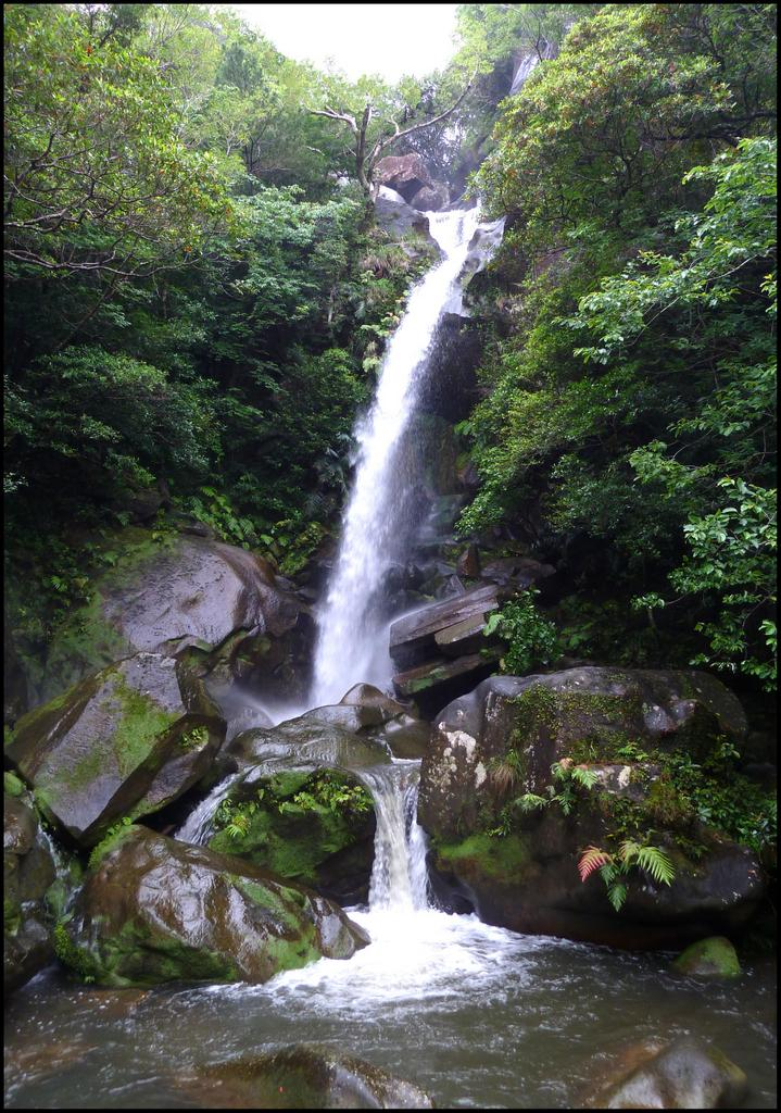 TODOROKI FALLS -- Okinawa's Oldest Waterfall Attraction