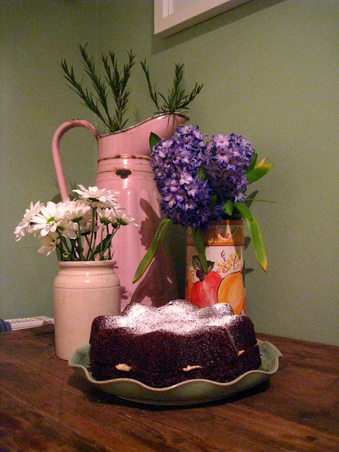 earl grey chocolate cake