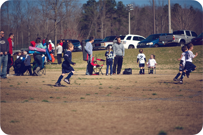 Ben's First Soccer Game