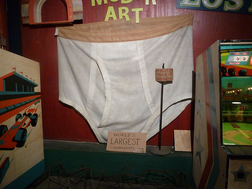 World's Largest Pair of Underpants - City Museum