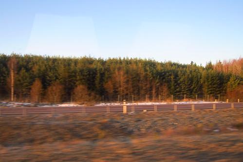 Sunrise near Västerås