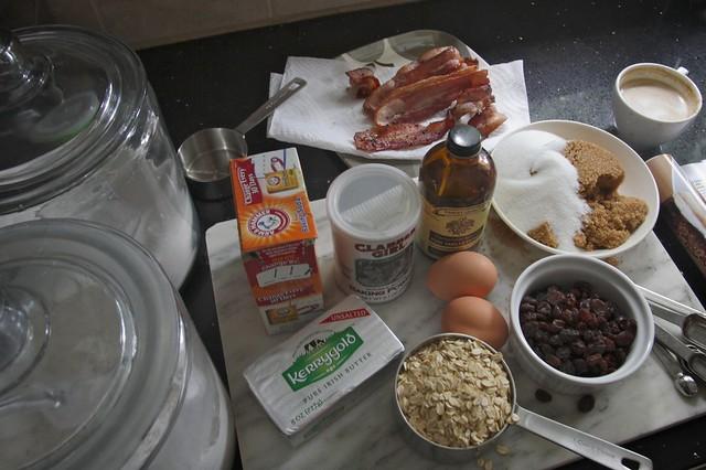 bacon oatmeal raisin cookies | Flickr - Photo Sharing!