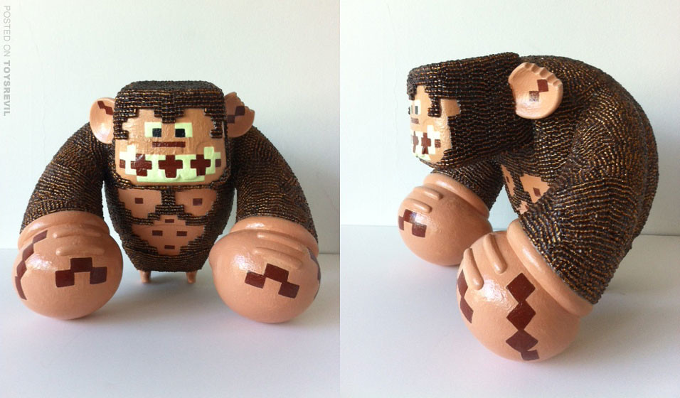 Glow In The Dark Arcade Donkey Kong By Denise Vasquez For