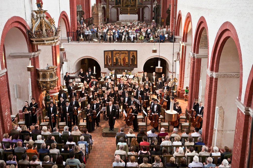 Denver Young Artists Orchestra performs in Brandenburg Cathedral