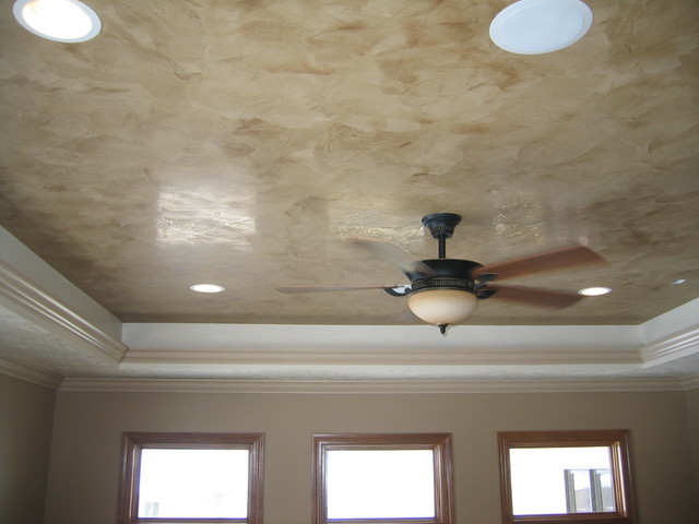 Painting Tray Ceiling Dining Room