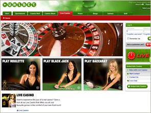 Unibet Live Casino Home
