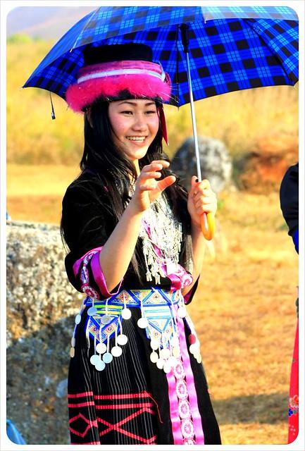 hmong girl laos