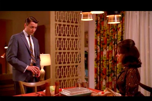 Mad Men Peter Campbell Apartment Screen