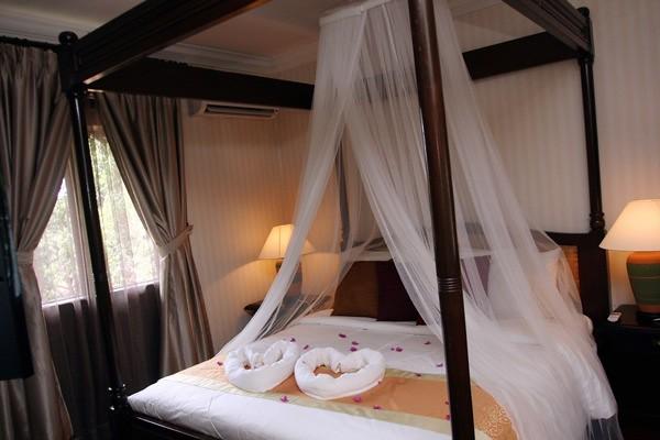 Mersing 18/05/2010; Chalet honeymoon suites eksklusif untuk pasangan berbulan madu di Pulau Sibu Tengah.Gambar Zulkarnain Ahmad Tajuddin...for metro JA2383