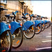 Row of Bikes :: Dublin, Ireland :: Éire  by HuTDoG83